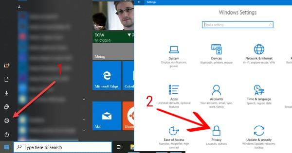 cara menghentikan background apps windows 10