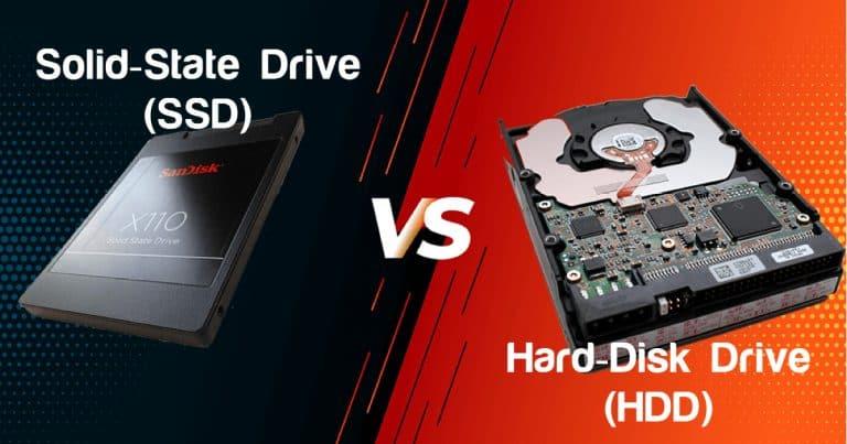 SSD vs HDD: Yang mana terbaik untuk PC dan Laptop